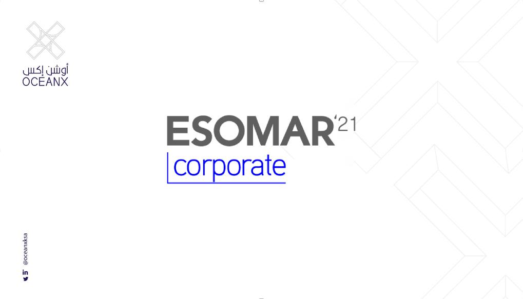 "Approval of the membership of ""OceanX"" in the International European Association ESOMAR"